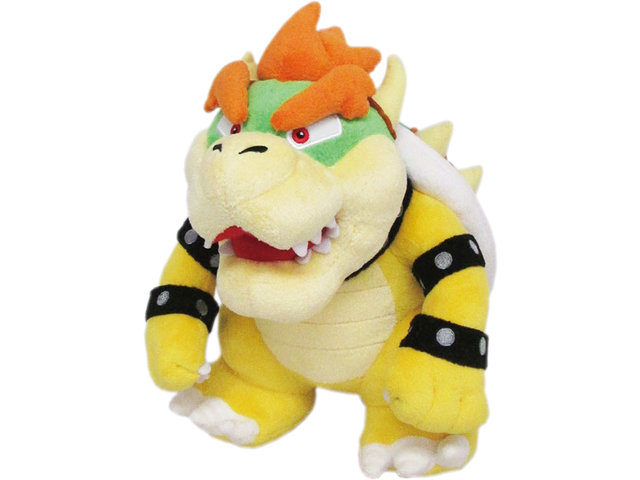 Little Buddy - Mario - Plush - Bowser - 10 inch