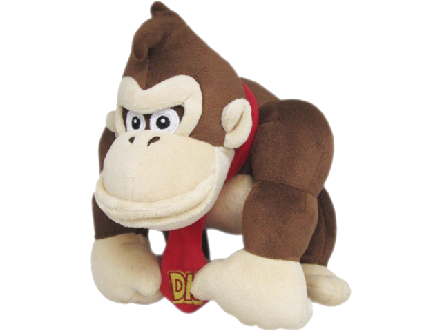 Little Buddy - Mario - Plush - Donkey Kong - 10 inch