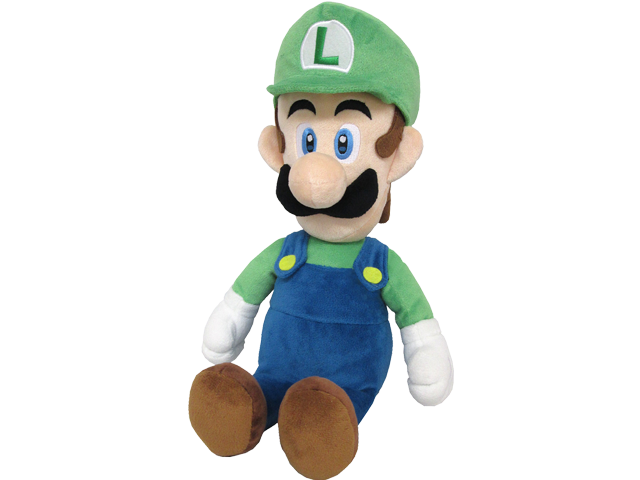 Little Buddy - Mario - Plush - Luigi - 15 inch