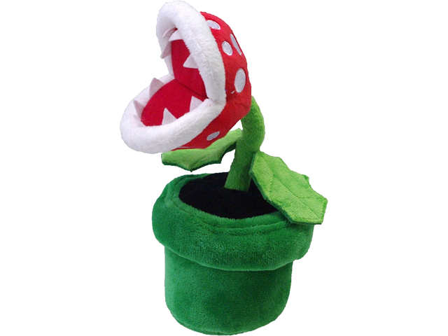 Little Buddy - Mario - Plush - Piranha Plant - 9 inch