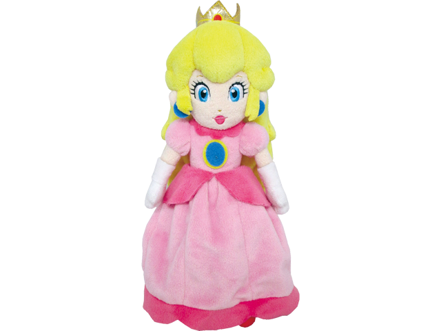 Little Buddy - Mario - Plush - Princess Peach - 10 inch