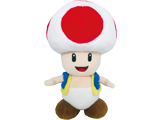 Little Buddy - Mario - Plush - Toad - 8 inch