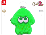 Hori - Splatoon 2 - Plush Pouch - Squid - Green - Package