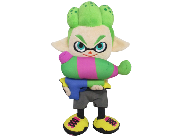 Little Buddy - Splatoon - Plush - Boy - Neon Green - 9 inch