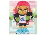 Little Buddy - Splatoon - Plush - Girl - Neon Pink - 9 inch