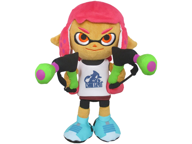 Little Buddy - Splatoon - Plush - Girl - Neon Pink - 9 inch