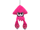 Little Buddy - Splatoon - Plush - Inkling Squid - Pink - 9 inch