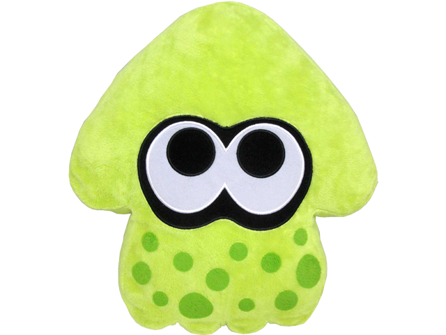 Little Buddy - Splatoon - Plush Pillow - Green