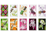Splatoon - Playing Cards - Squid - Grid
